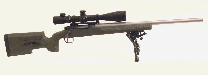 Glass Bedding Rem 700 Rifle