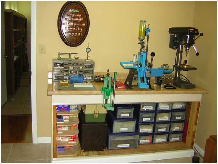 New Reloading Bench